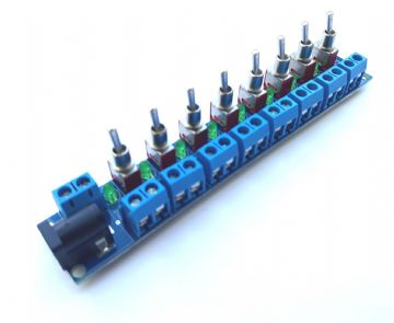 RKpdu2 Power Distribution Unit for Model Railway  - Self Solder Kit